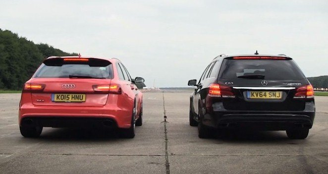 Audi RS6 vs Mercedes E63 AMG S