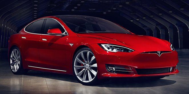 Tesla Model S 2017 facelifting