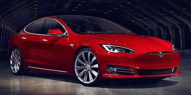Tesla Model S 2017 facelifting