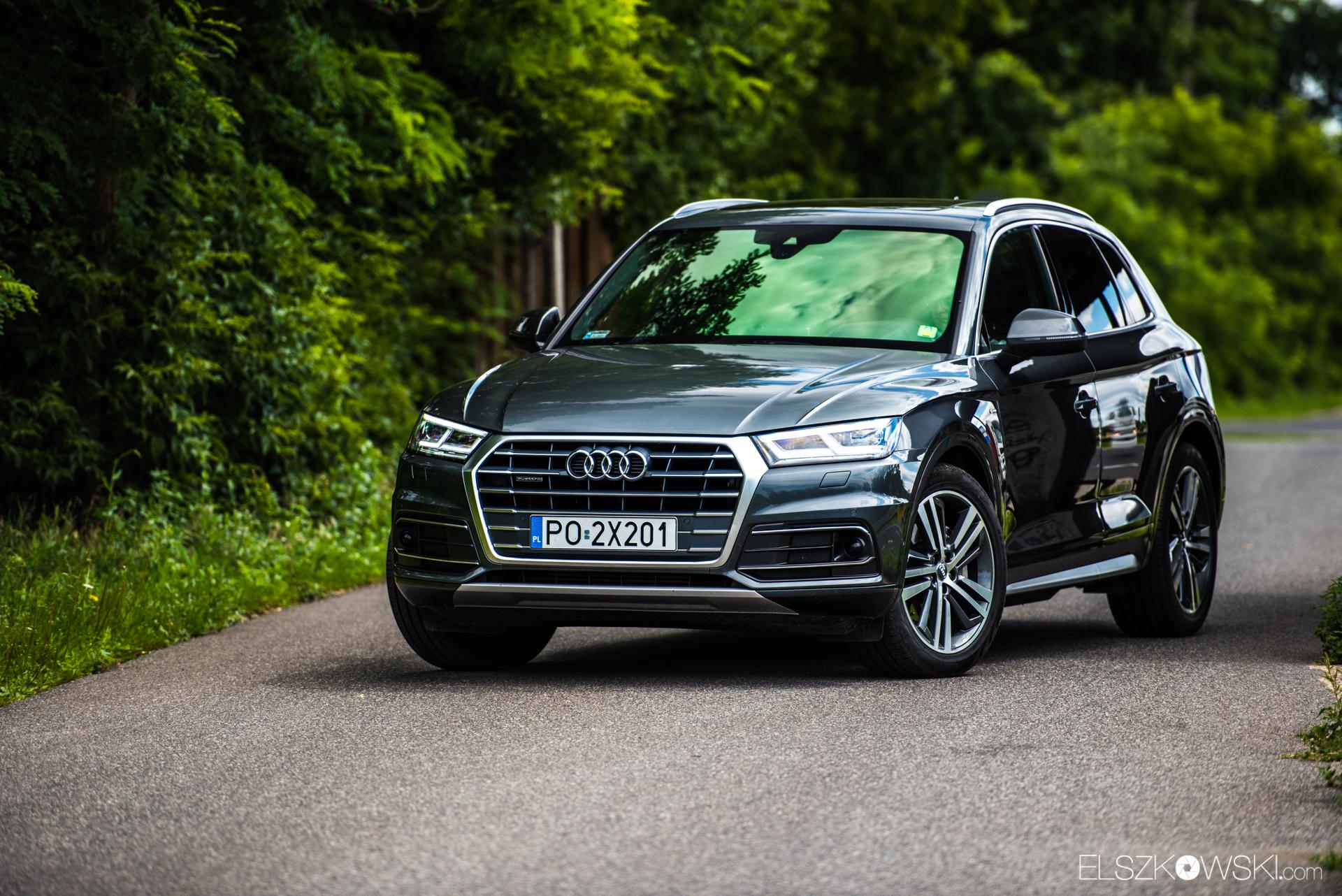 Nowe Audi Q5 przyłapane na Nurburgringu