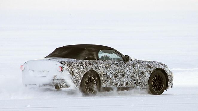 BMW Z5 spyshot