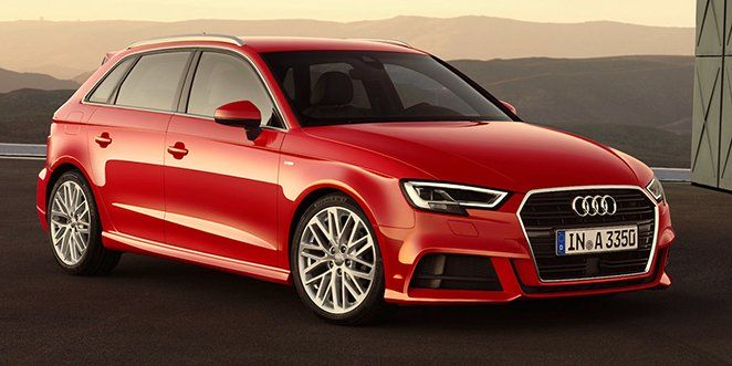 Audi A3 facelifting 2017