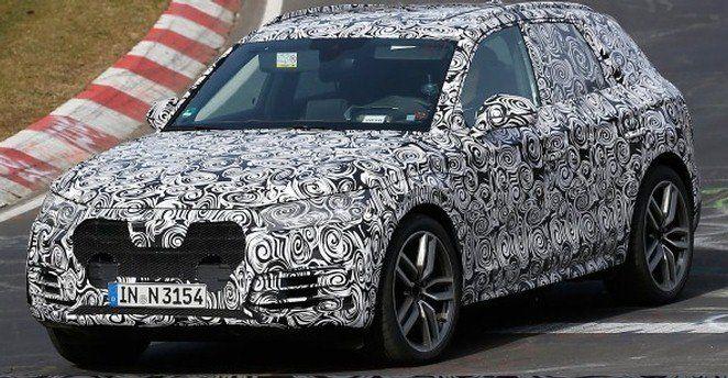 Audi Q5 2017 spy