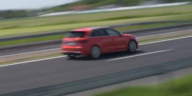 Audi RS3 red