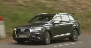 Test Audi SQ7 na wideo – najpotężniejszy