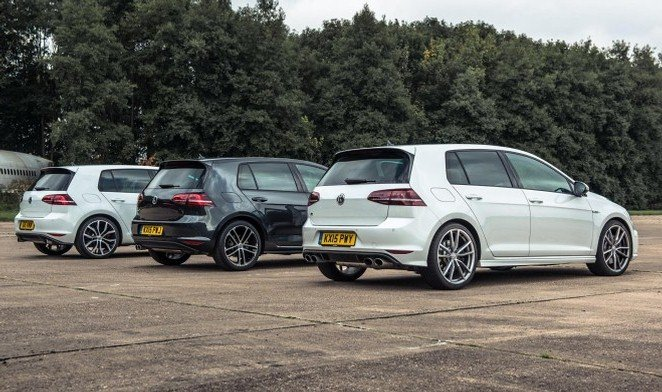 Golf R vs Golf GTI vs Golf GTD