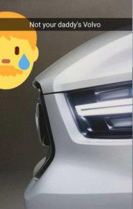 Volvo XC40 teaser