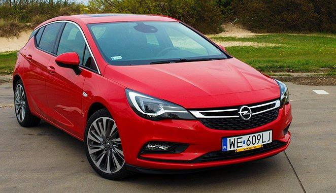 Nowy Opel Astra 1.4