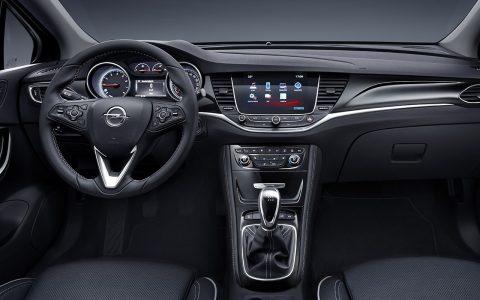Opel Astra 2016 interior
