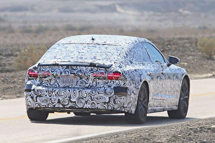 Audi A7 2018 spy