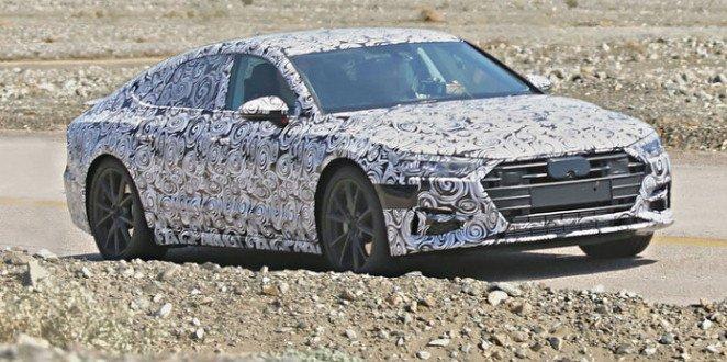 Nowe Audi A7 2018 spy