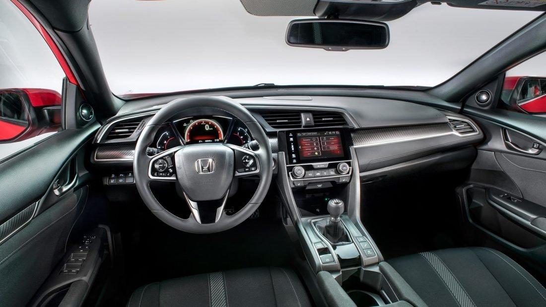 Honda Civic 2017 interior