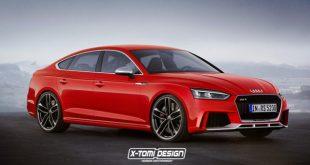 Jak może wyglądać Audi RS5 Sportback?