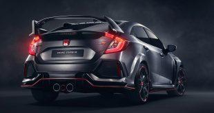 Paryż 2016: Honda Civic Type R Prototype