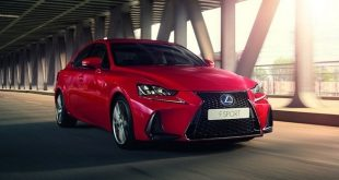 Lexus IS 2017 oficjalnie