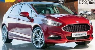 Ford Fiesta 2017 render