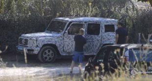 Nowy Mercedes Klasy G już niedługo [wideo szpiegowskie]