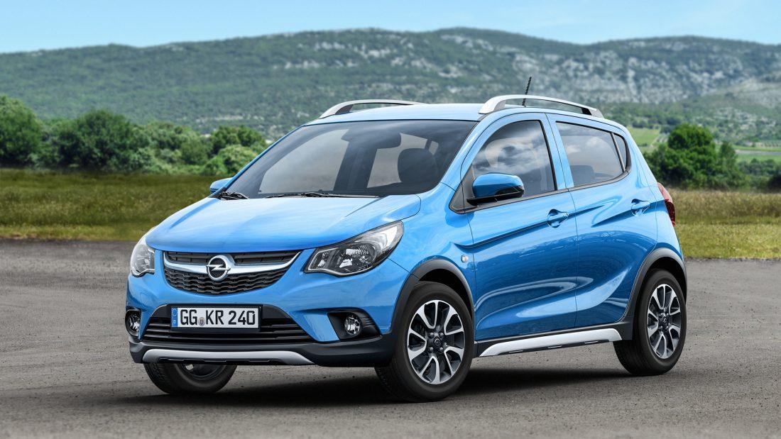 Nowy Opel KARL ROCKS