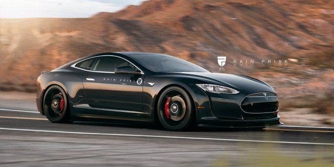 Tesla Model S w wersji Coupe