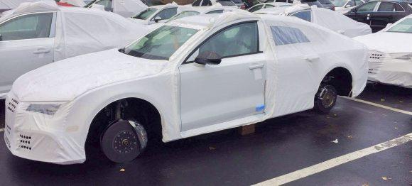 Audi RS7 skradzione