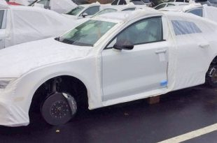 Audi RS7 kradzież kół