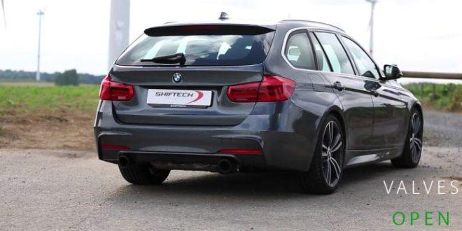 BMW 340i akrapovic