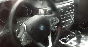 Zdjęcia wnętrza nowego BMW serii 5 2017