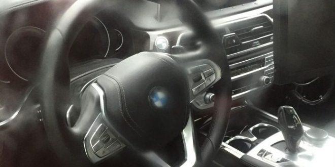 BMW 5 2017 interior