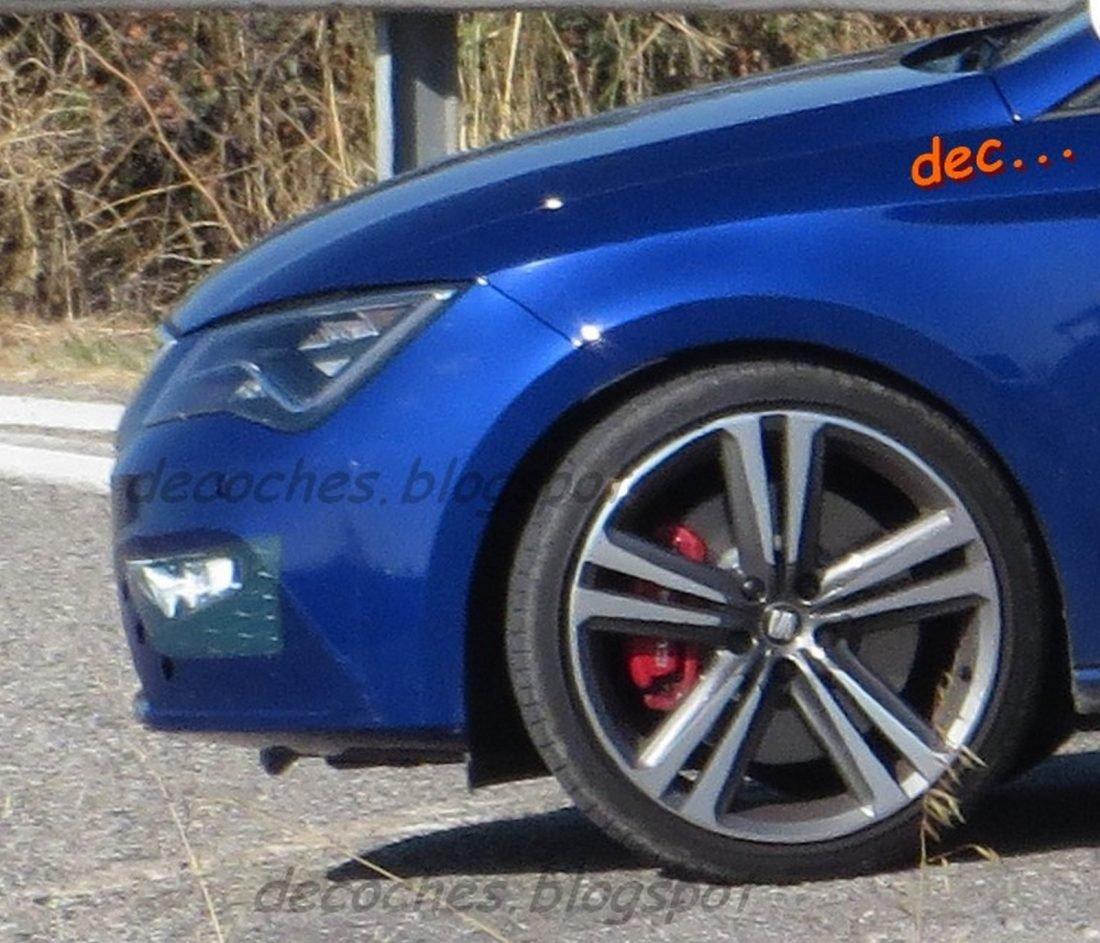 SEAT Leon Cupra 2017 facelift