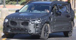 Nowe Volvo XC60 przyłapane [zdjęcia]