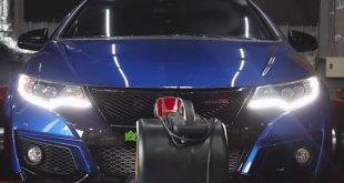 Prosto i przyjemnie – 44 KM i 60 Nm więcej dla Hondy Civic Type R
