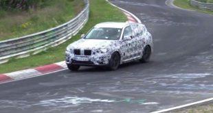 Nowe BMW X3 przyłapane [wideo szpiegowskie]