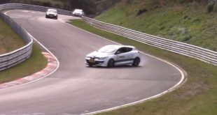 Renault Megane RS drift