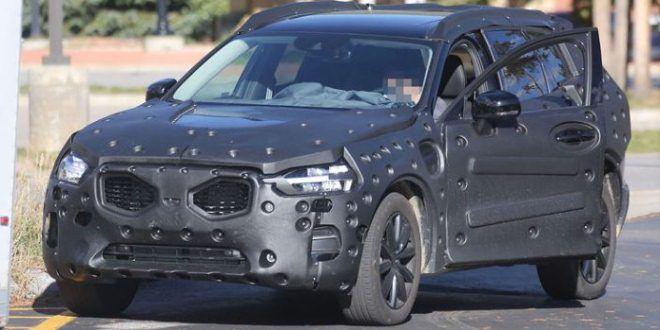 Volvo XC60 2017 spy