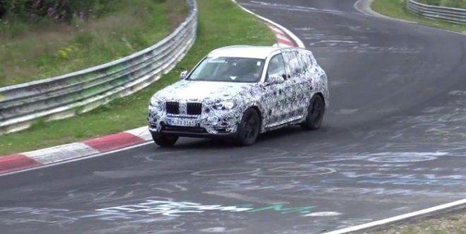 Nowe BMW X3 2017 spy