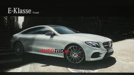 Mercedes Klasy E Coupe 2017