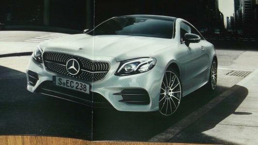 Mercedes Klasy E Coupe 2018