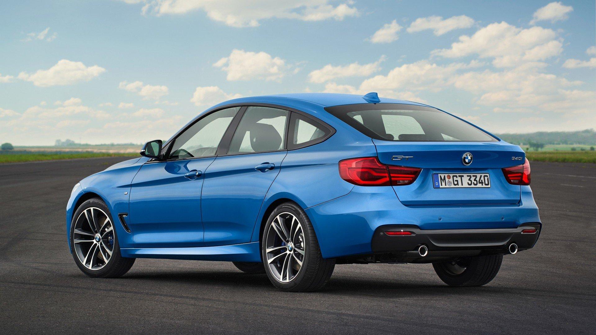 BMW serii 3 GT 2017 facelift