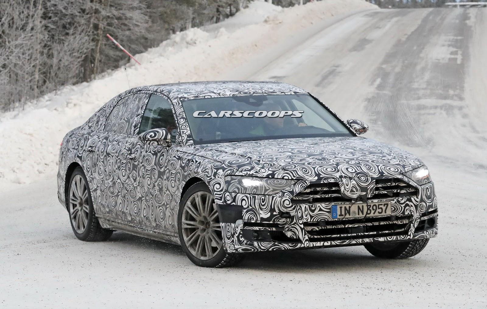 2018 Audi A8 Spyshot
