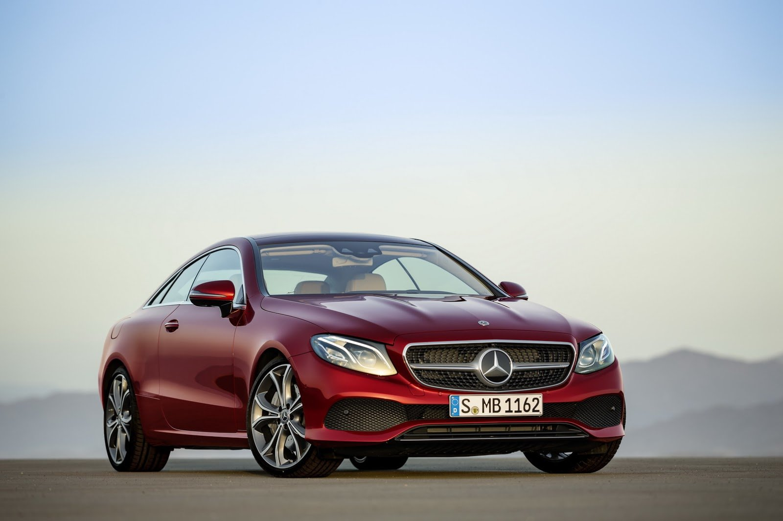 2017 Mercedes-Benz E Coupe