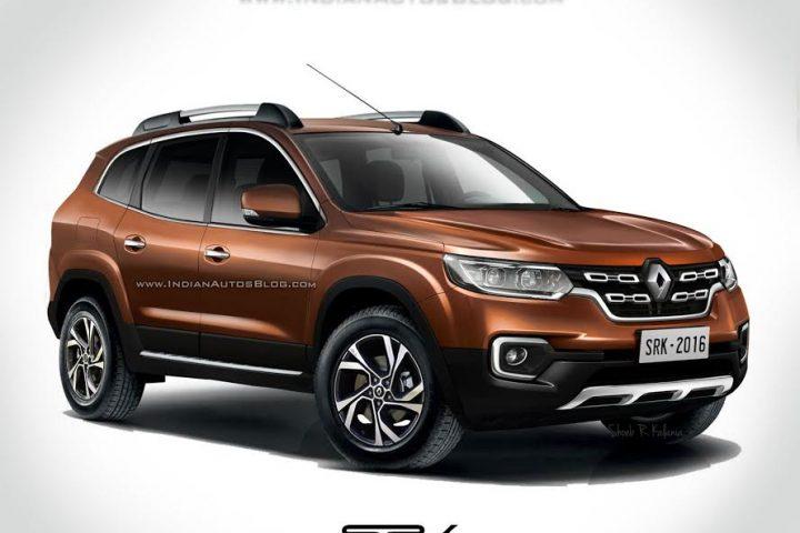 Dacia Duster 2018 render