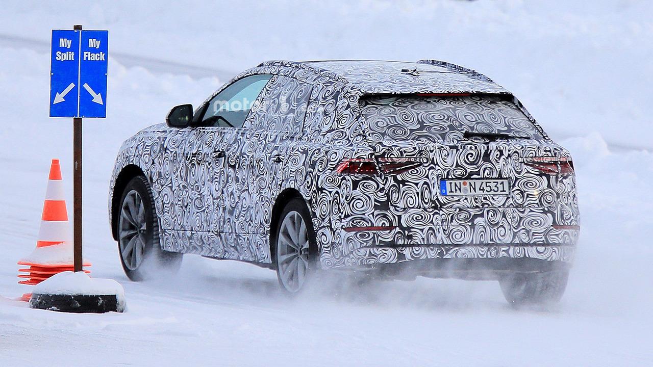 Audi Q8 2018 spy
