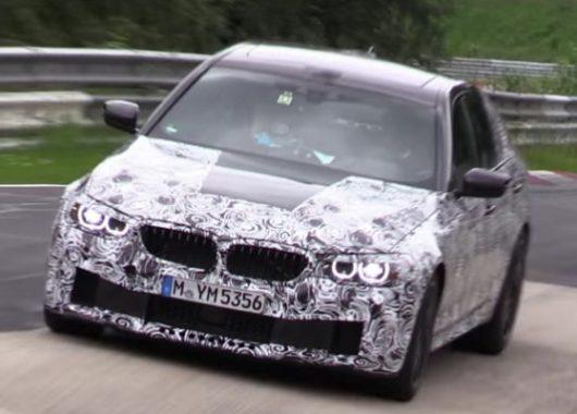 BMW M5 F90 2018 spy