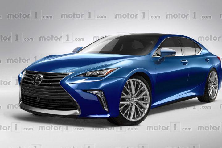 Lexus LS 2018 rendering