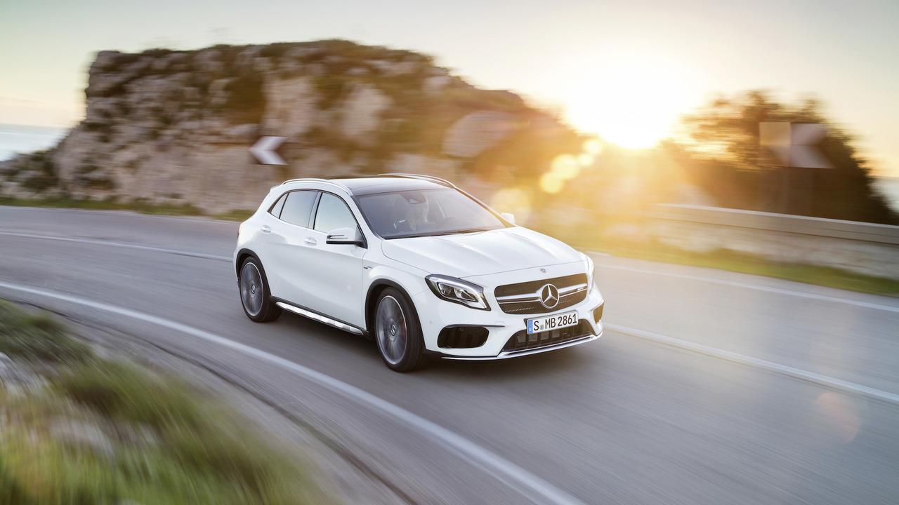 Mercedes GLA 2018 facelift