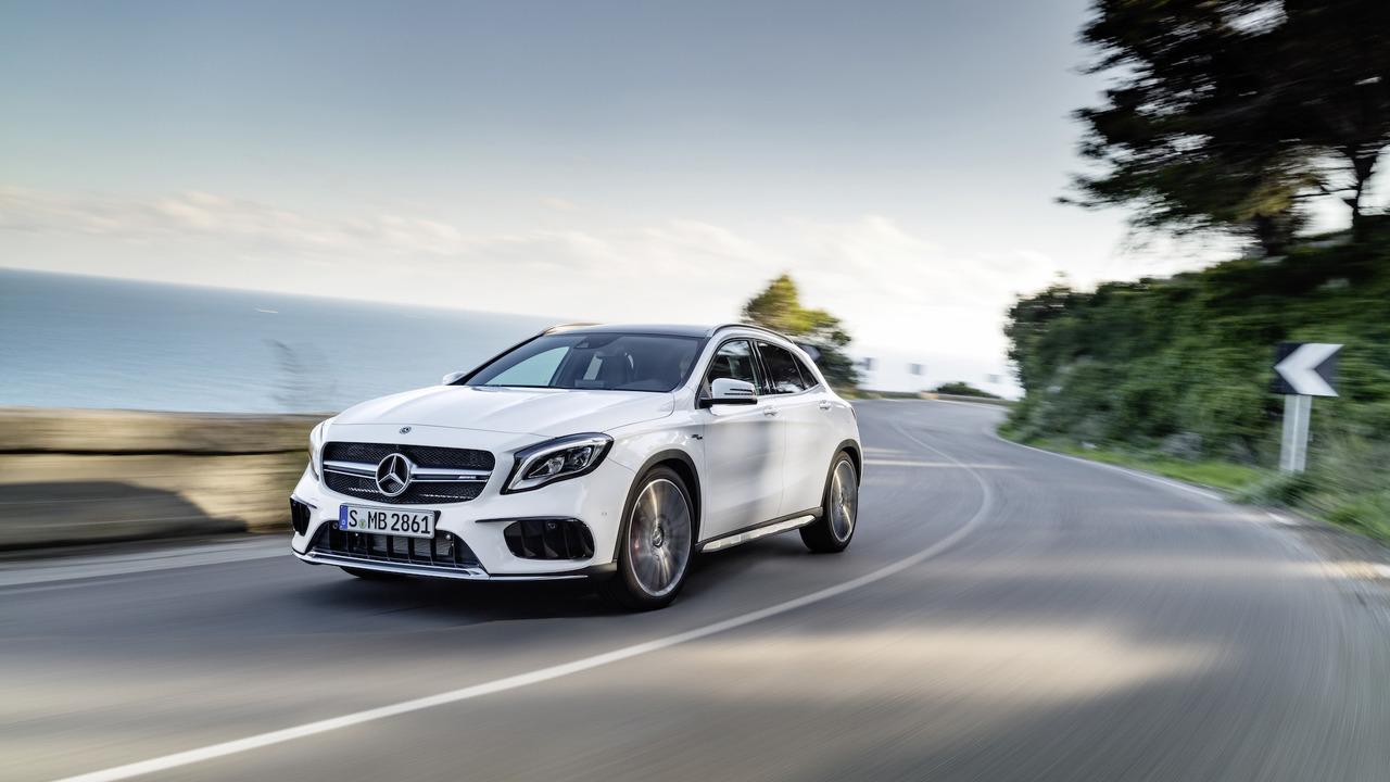 Mercedes GLA 45 AMG 2018 facelift