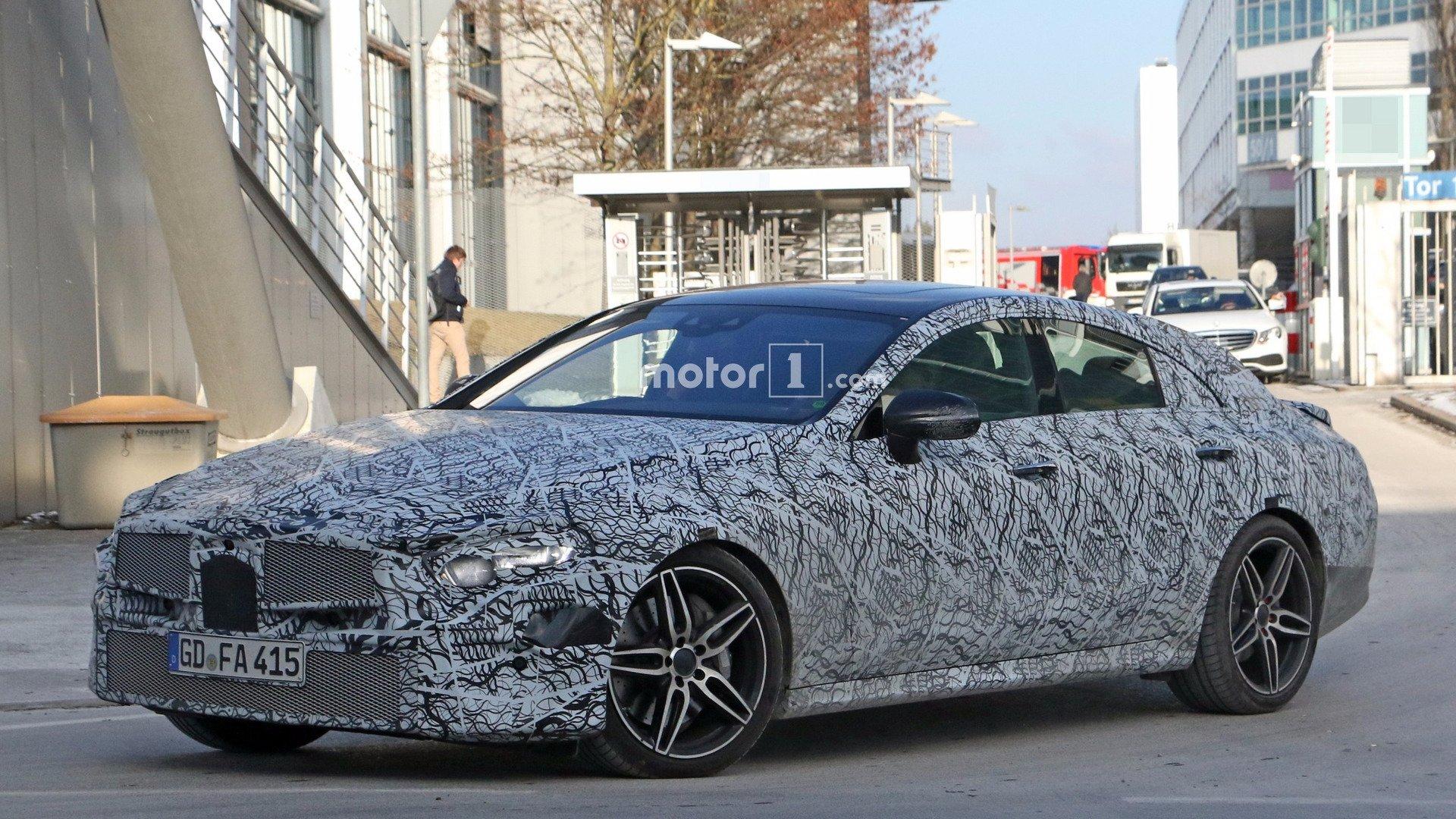 2018 Mercedes-Benz CLS spyshot