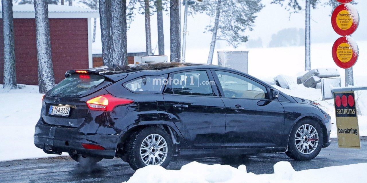 Ford Focus Spyshot