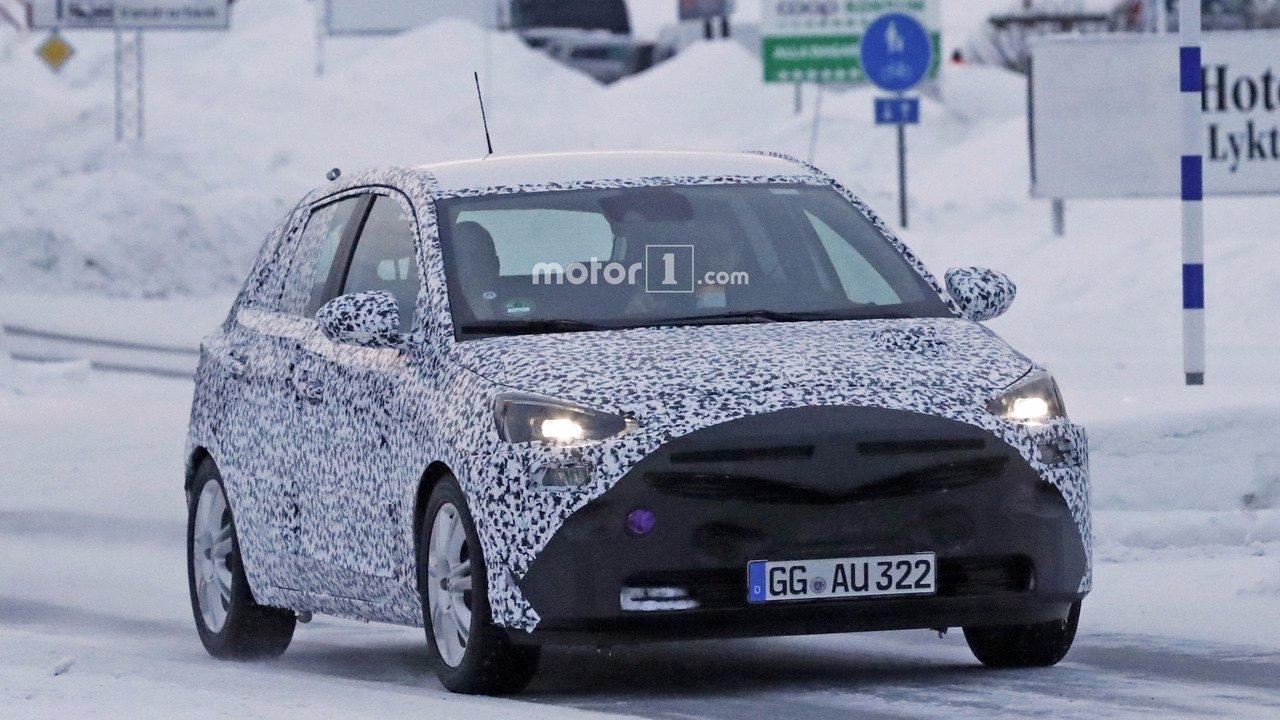 2019 Opel Corsa Spyshot