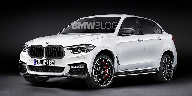 BMW X8 rendering